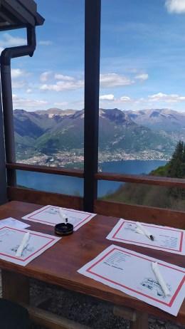 Vista dal ristorante