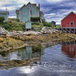 Photo: Low Tide at Peggy's Cove