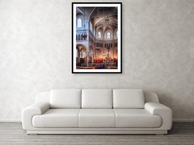 St.Mary Church Nova Scotia, wall fine art print