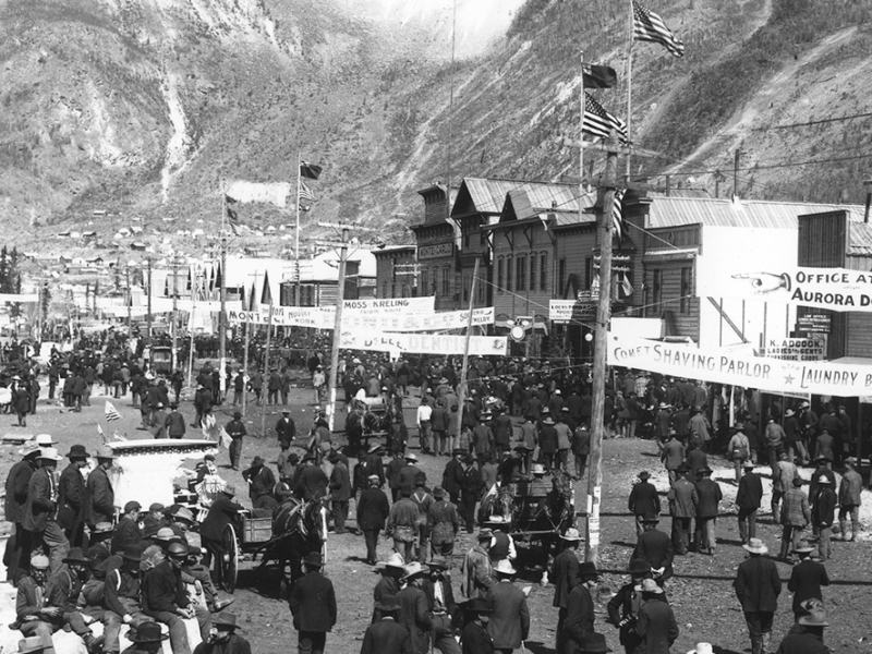 Gold Rush, Dawson City