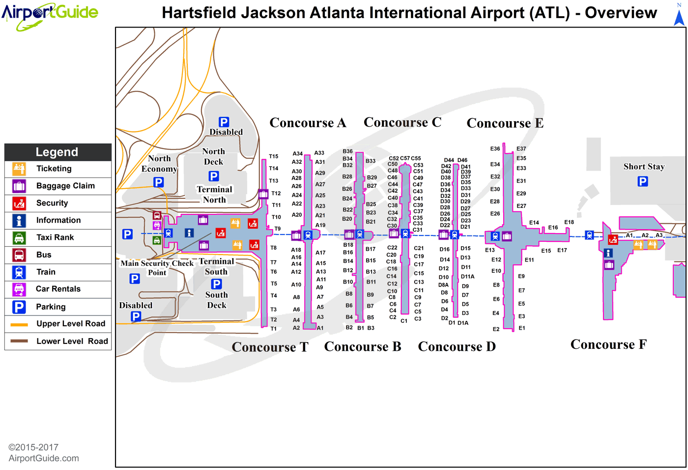 Hartsfield Jackson Airport Map Afp Cv