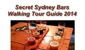 Secret Sydney Bars Walking Tour Guide Ebook Cover