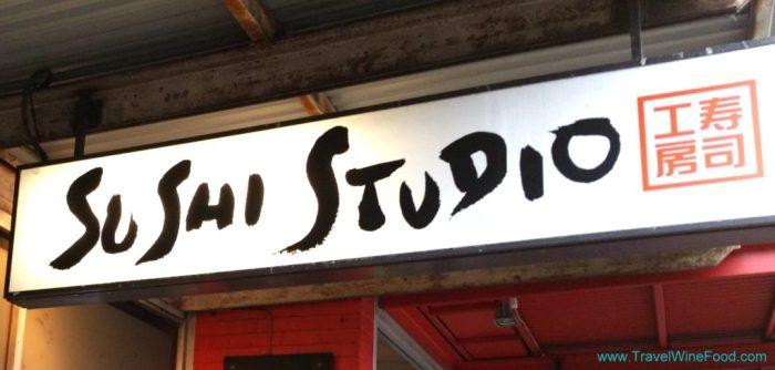 The Sushi Studio Sign