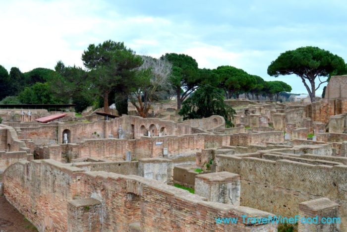Ostia Antica Archaeological Site Italy Europe