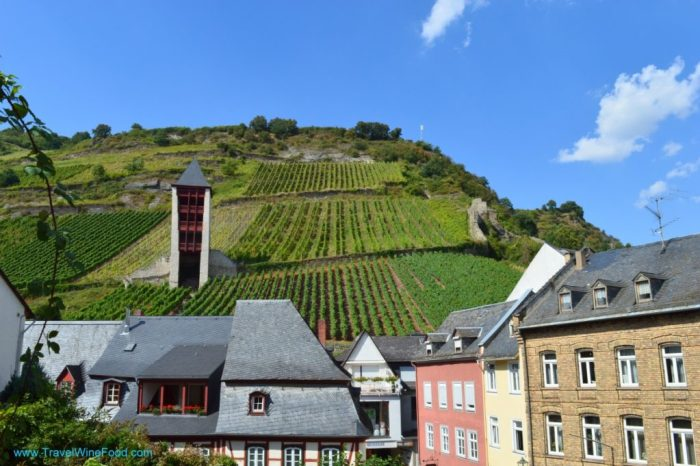 Rhine Valley Vineyards Bacharach Germany Europe