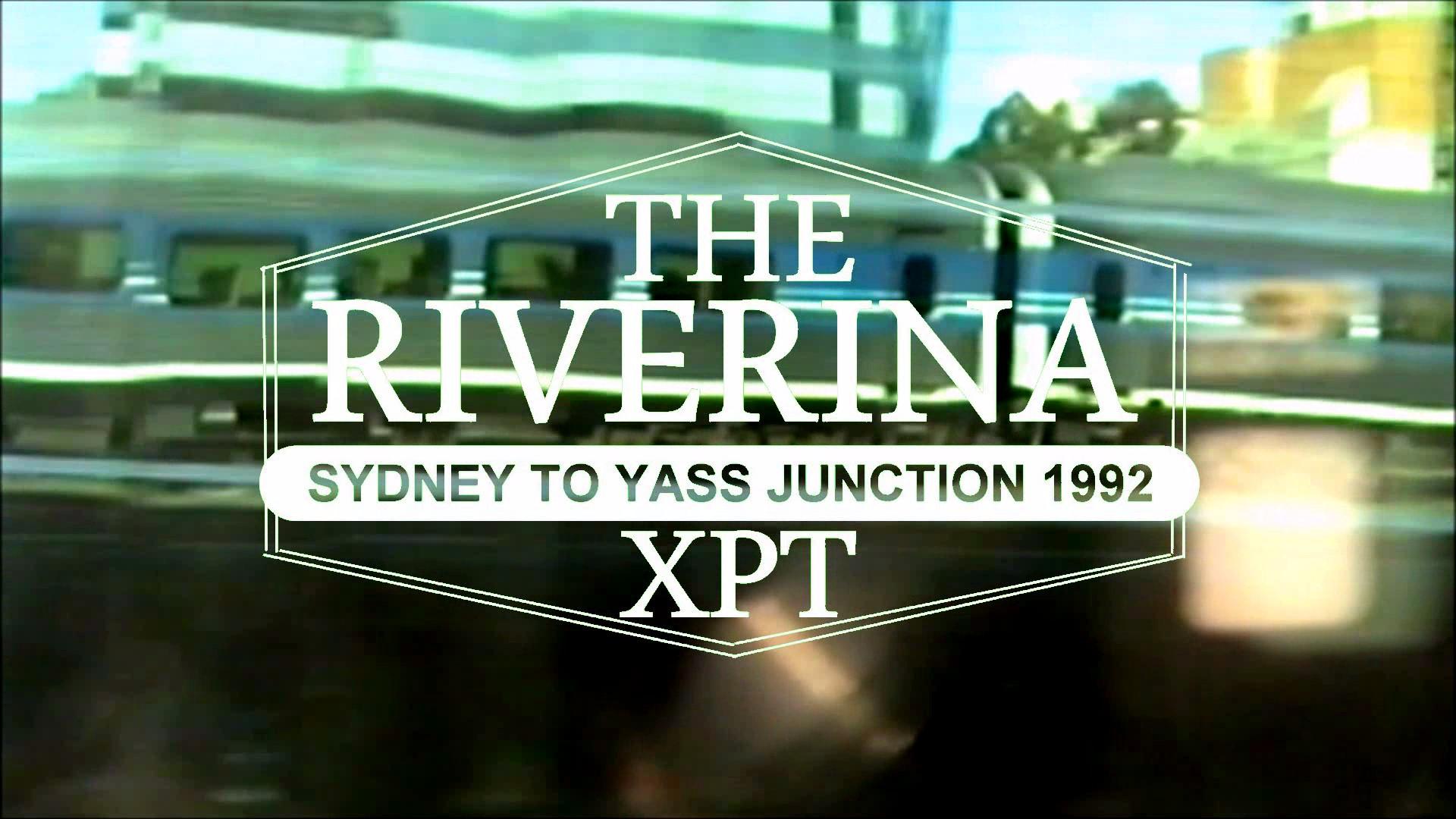 SlowTV  Riverina XPT Train Sydney to Yass Junction NSW Australia