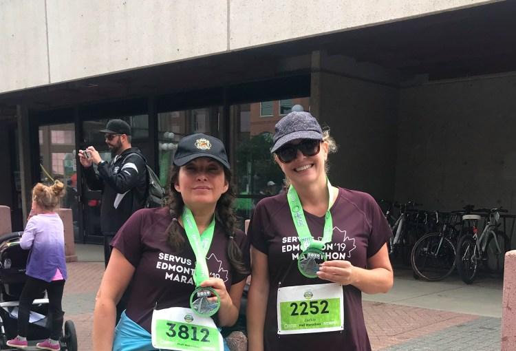 Edmonton Half Marathon ~ 2019