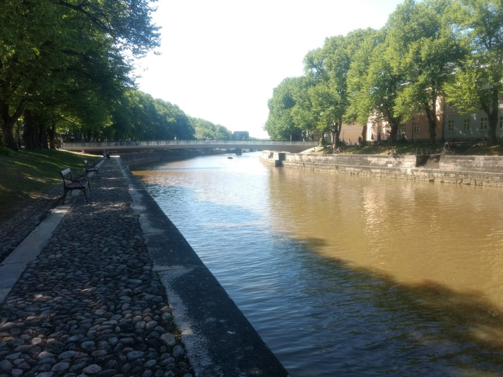 River Aura..the heart & soul of Turku..