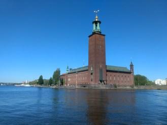 City Hall,Stockholm..where Nobel laureates get recognized..