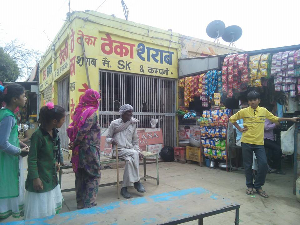Loharu town, Haryana, India