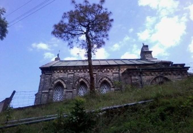 St Mary's church, Lansdowne, Uttarakhand, India