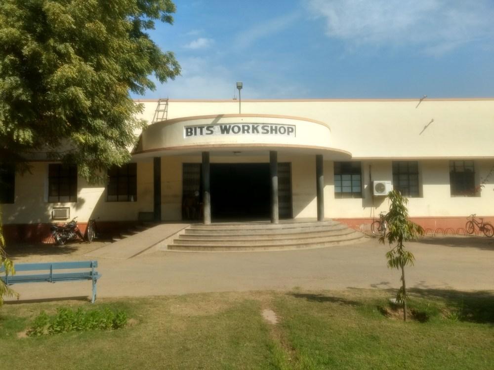 BITS, Pilani campus, India. Old Workshop