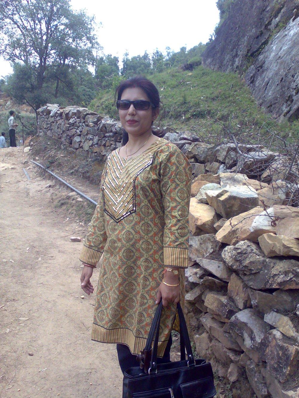 Towards Rudradhari Caves Falls, Kausani, Uttarakhand, India