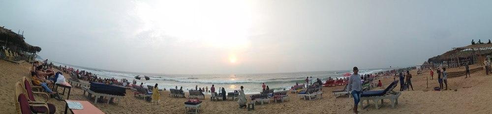 Candolim Beach, Goa, India. Goa is famous for it's beaches