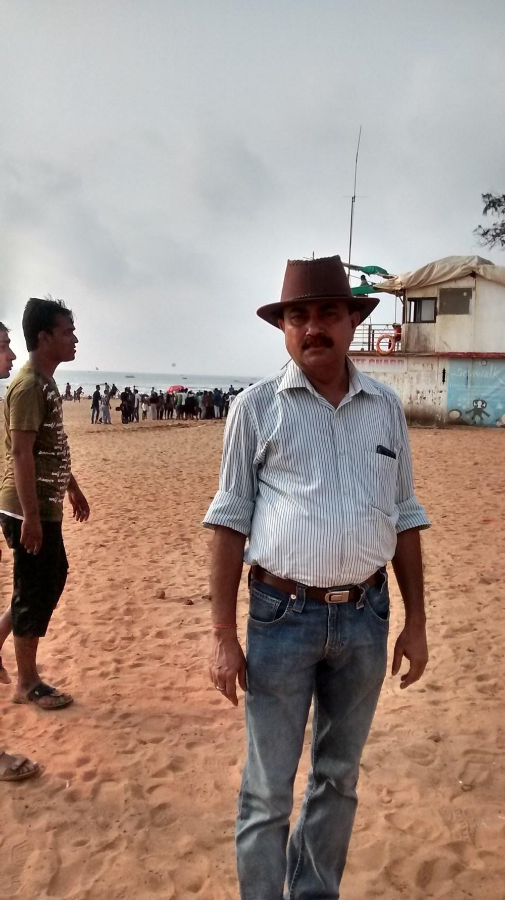 Baga Beach, Goa. India. Goa is famous for it's beaches