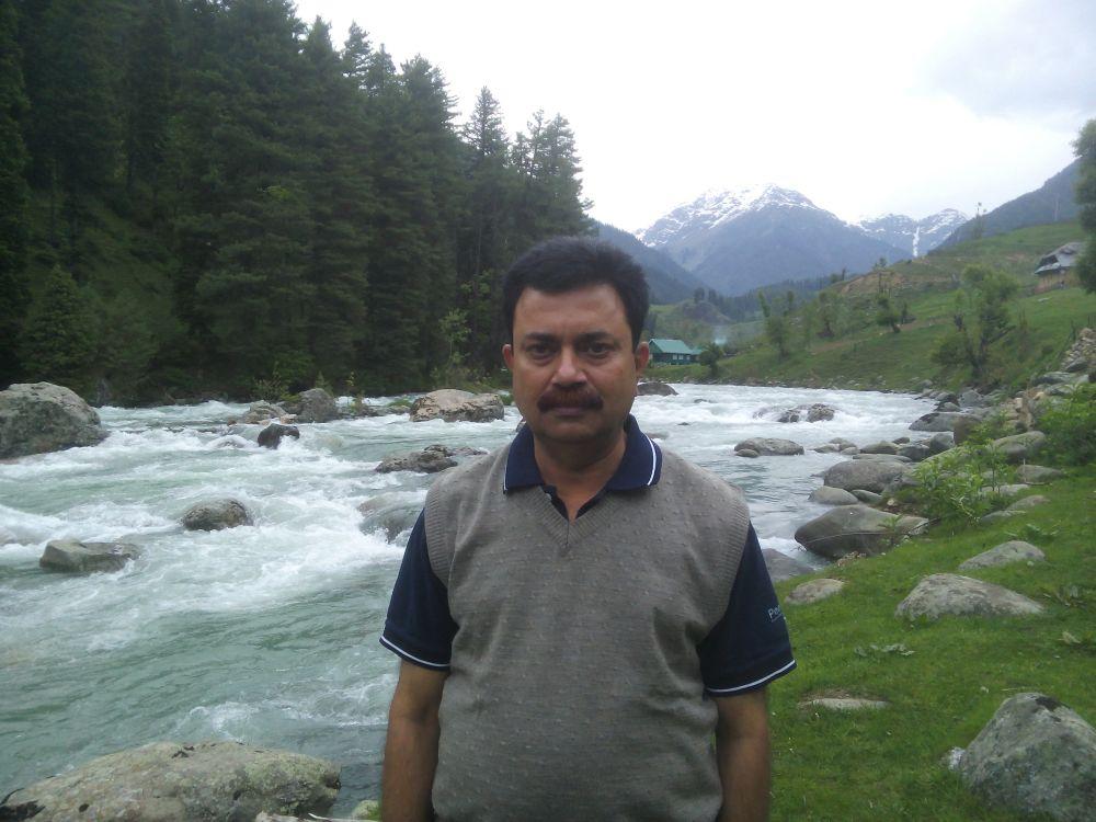 Lidder River, Pahalgam, Kashmir, India