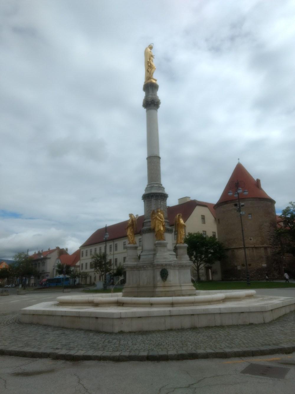 Kaptol Square, Zagreb, Croatia