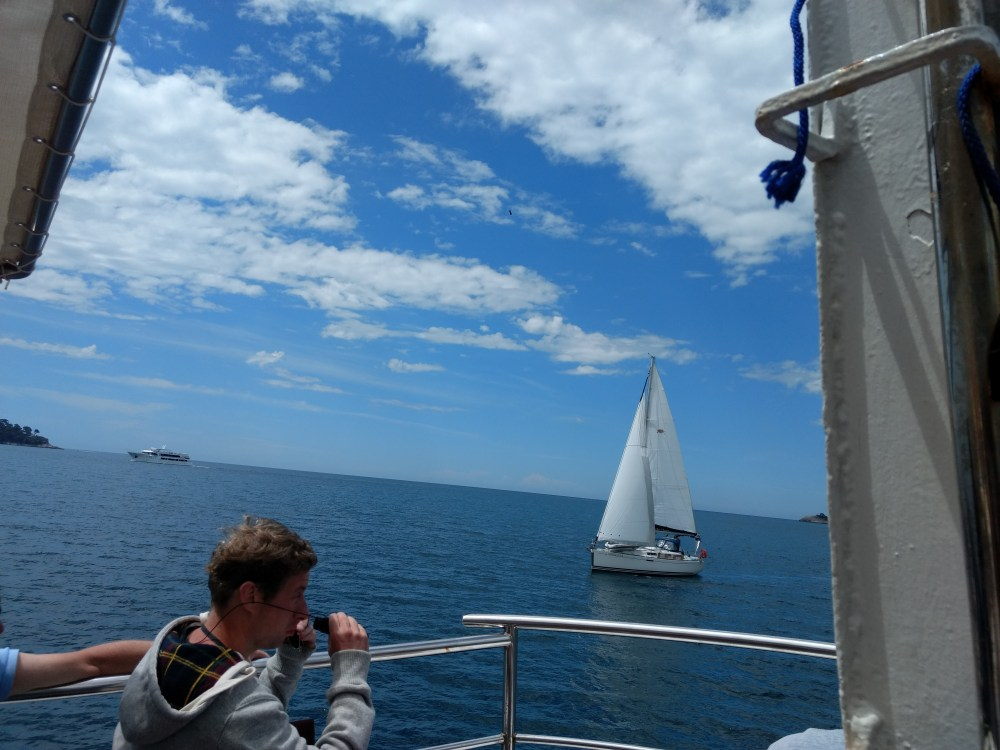 Boat trip from Kolocep island to Sipan island, Dubrovnik, Croatia