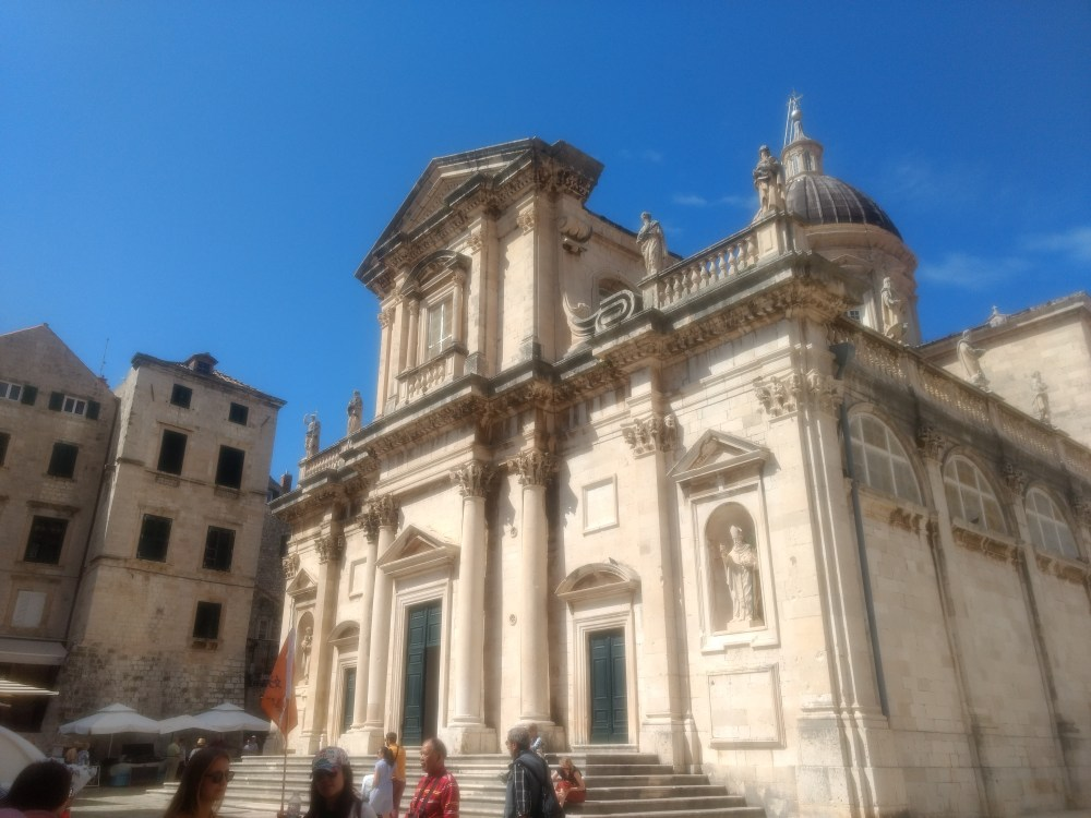 Dubrovnik Cathedral, Old Town, Dubrovnik, Croatia