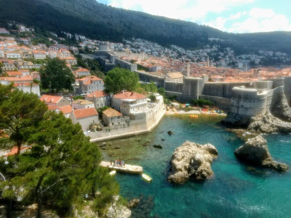 View from Fort Lovrijenac, Old Town, Dubrovnik, Croatia