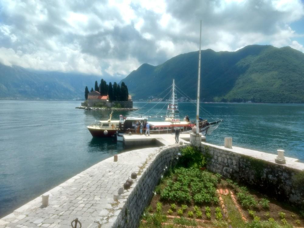 Island of St. George, Bay of Kotor, Perast, Montenegro, Europe
