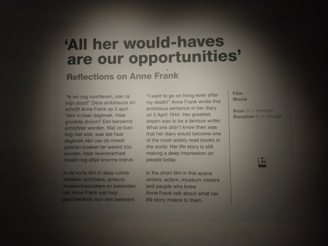 Anne Frank Museum, Amsterdam