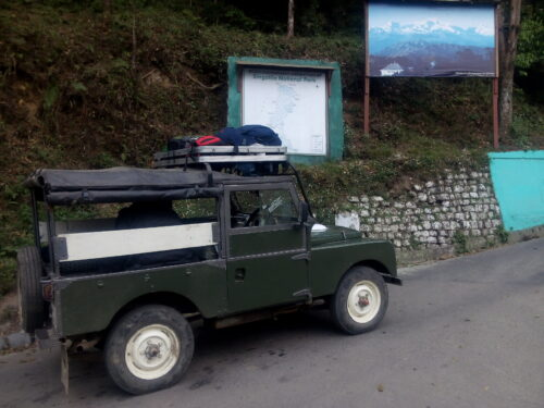 Sandakphu by Land Rover
