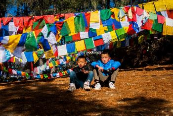Locals in Bhutan