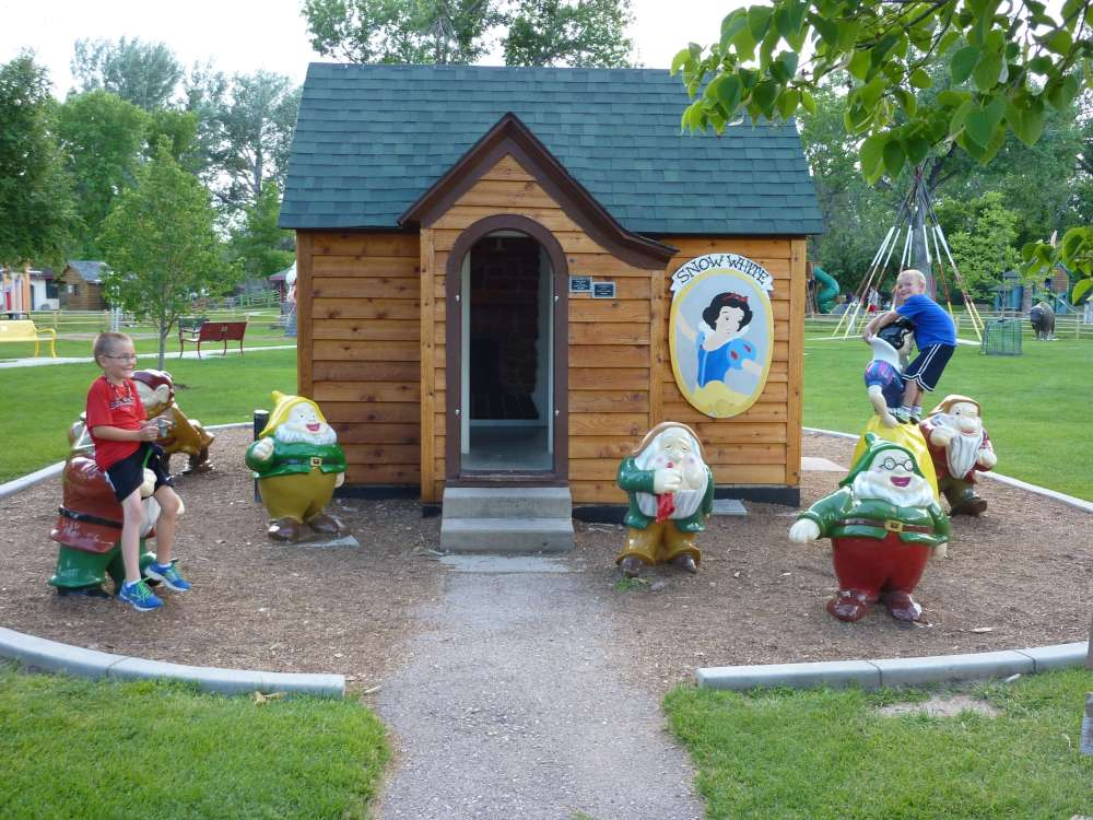 The Best Things to Do in the Black Hills with your Family featured by top US family travel blog, Travel with a Plan: image of Storybook Island