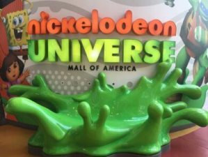 Nickelodeon Universe entrance