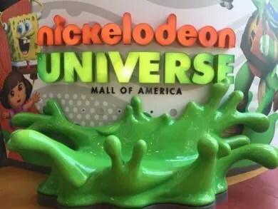 Nickelodeon Universe entrance