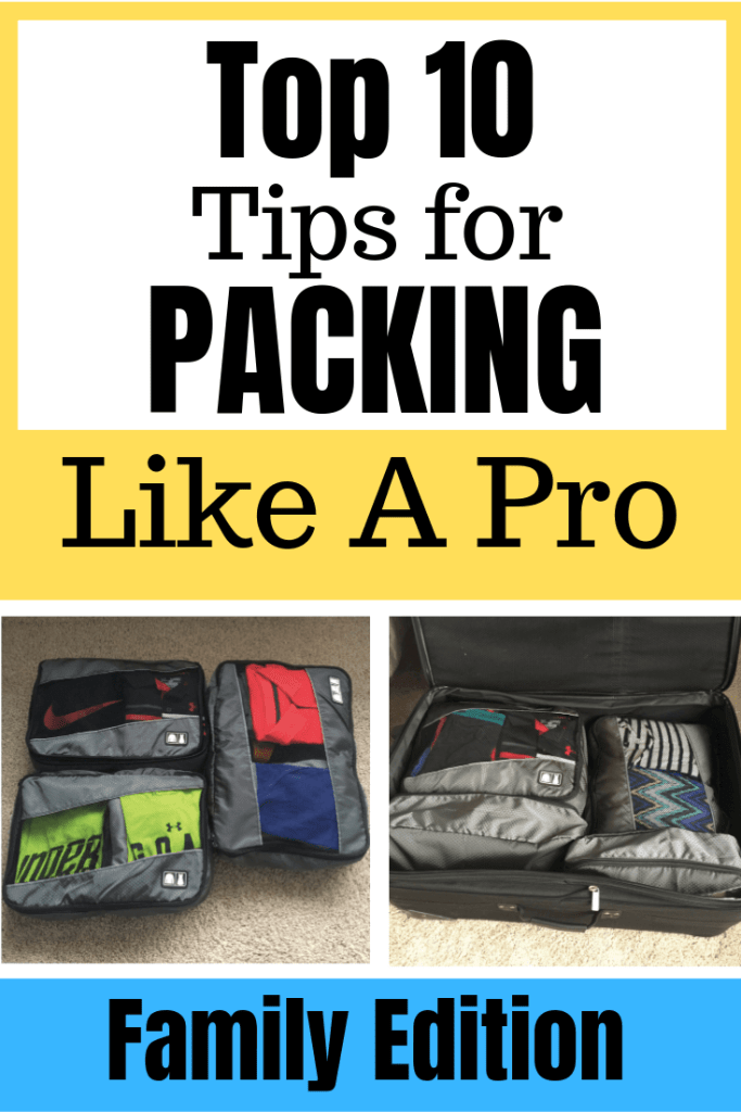 Click here to discover these genius family vacation packing tips from Top U.S. family travel blog, Travel With A Plan!  Also, find our their favorite MUST HAVE packing essential!  #familyvacationpackingtips #howtopackforfamilyvacation #packingtips #bestpackingtips #bestpackingtipsforfamilies
