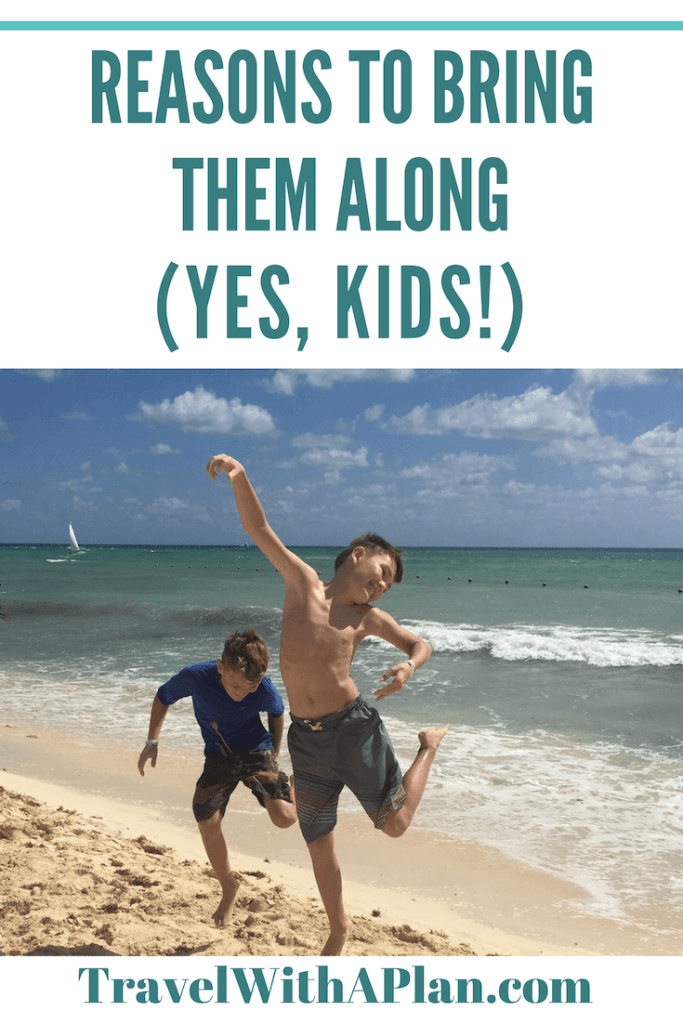 Unexpectd Benefits of Traveling with Kids; pinterest