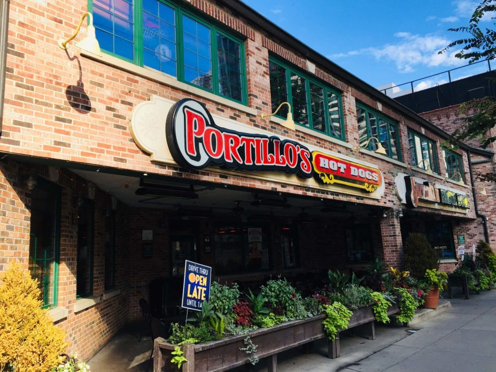 Chicago 3 day itinerary featured by top US family travel blog, Travel with a Plan: image of Portillo's restaurant