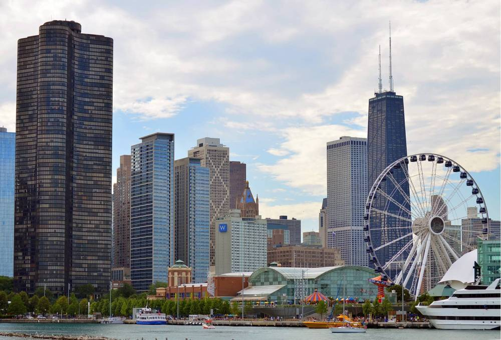 Chicago 3 day itinerary featured by top US family travel blog, Travel with a Plan: image of Chicago Navy Pier