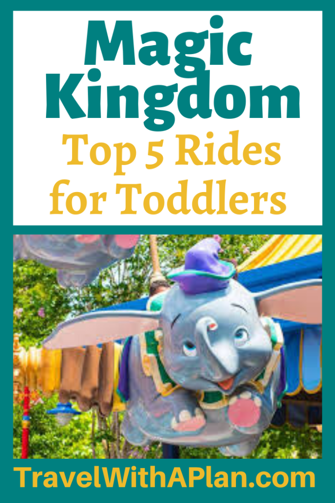 Click here to discover the Top 5 Fun Magic Kingdom Rides for Toddlers from Top U.S. family travel blog, Travel With A Plan!  Get ready to rock Magic Kingdom with toddlers!  #undertheseajourneyofthelittlemermaid #bestmagickingdomridesfortoddlers #magickingdomrides #disneyworldridesfortoddlers #magidkingdomfortoddlers #magickindomrideslist #bestridesforkidsatdisneyworld