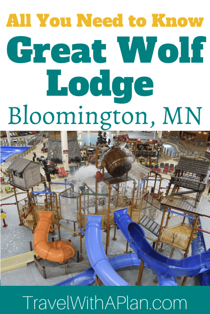 Click here to discover all that you need to know about Great Wolf Lodge Bloomington, MN! Read a full review from Top U.S. family travel blog Travel With A Plan! #greatwolflodgebloomington #greatwolflodgeMN #greatwolflodgebloomingtonreviews #greatwolflodgecoupons