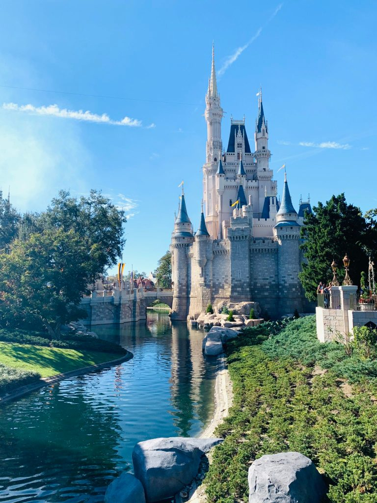 Disney World Cost Calculator: A beautiful view of Cinderella's Castle