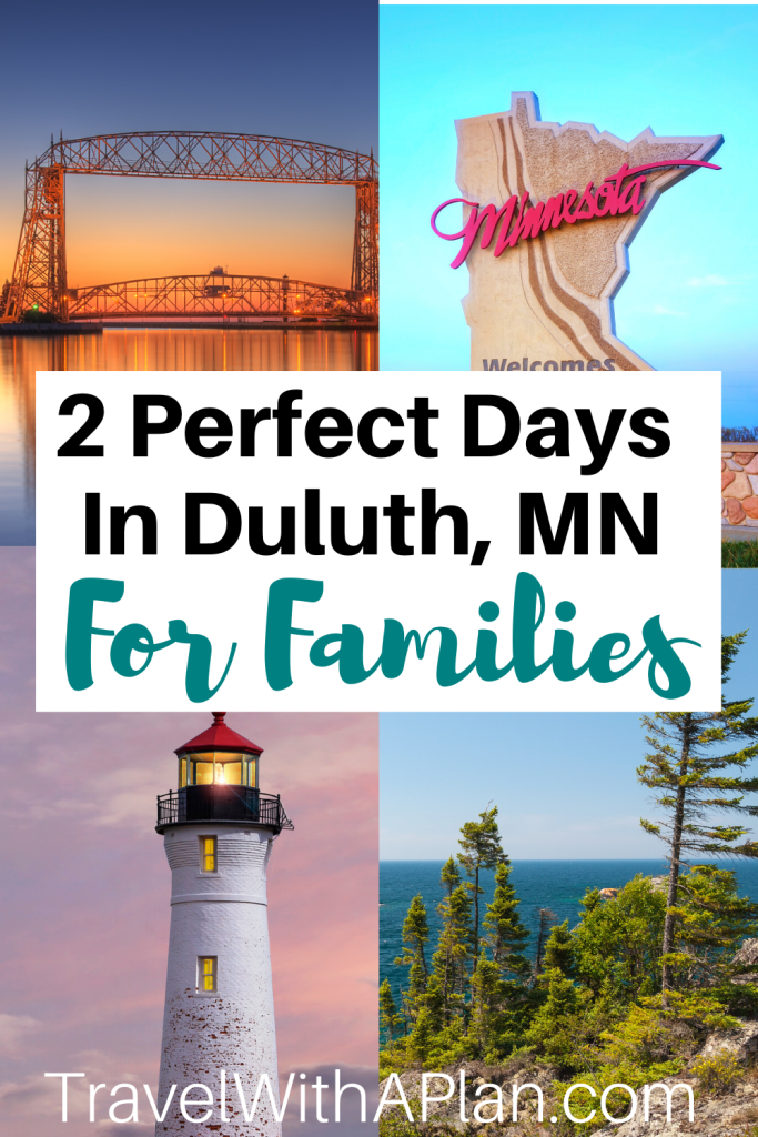 Find out exactly what to see as well as discover the best things to do in Duluth, MN!  From Canal Park, Enger Tower, and The Depot, our Duluth 2-Day Itinerary is perfect for families!  Click here now for our hour-by-hour touring plan!  #DuluthMN #thingstodoinDuuth #bestthingstodoinDuluth #Duluthwithkids #Duluth2dayitineary #2dayduluthitinerary