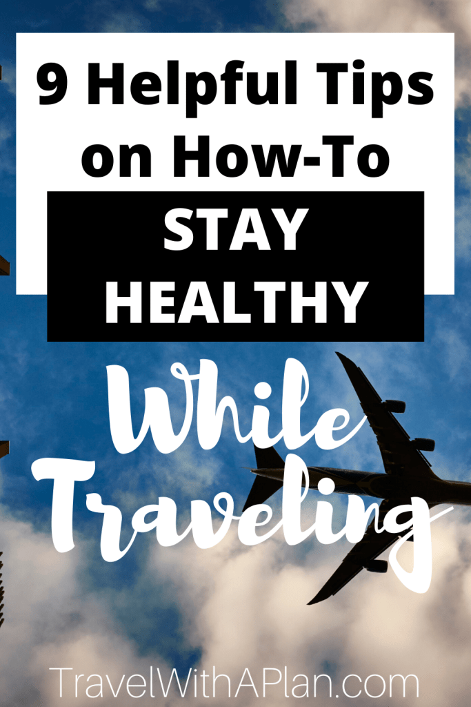 Click here for 9 essentials tips on how to keep your family healthy while traveling! Our scientifically-backed tips have proven benefits to help ward of illness and instead, keep everyone happy and healthy while on-the-go! #tipsforstayinghealthy #tipsforstayinghealthywhiletraveling #howtostayhealthywhiletraveling #howtostayhealthyonvacation #howtokeepyourfamilyhealthywhiletraveling