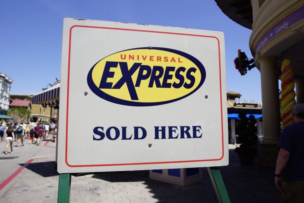 Universal Studios touring plan Express Pass tips
