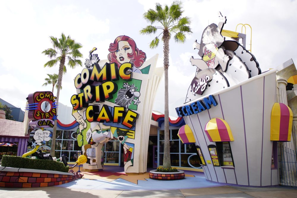 Comic Strip Cafe at Islands of Adventure