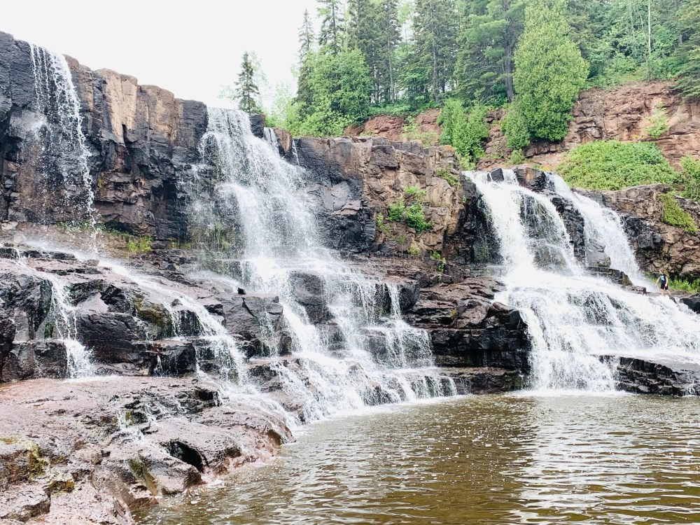 Gooseberry Falls: Top U.S. Family Travel Blog, Travel With A Plan, details a Minnesota North Shore road trip along the North Shore Scenic Drive.