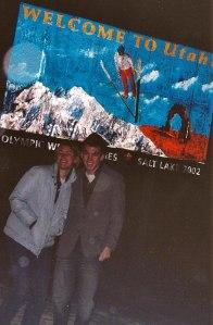 Utah and Wyoming
