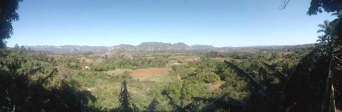 Panoramic image of Vinales