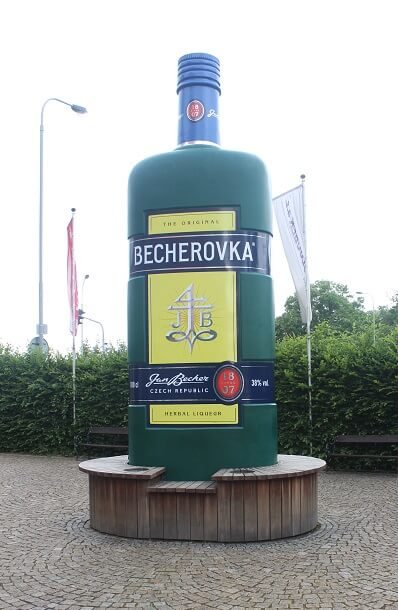Becherovka herbal alcoholic drink
