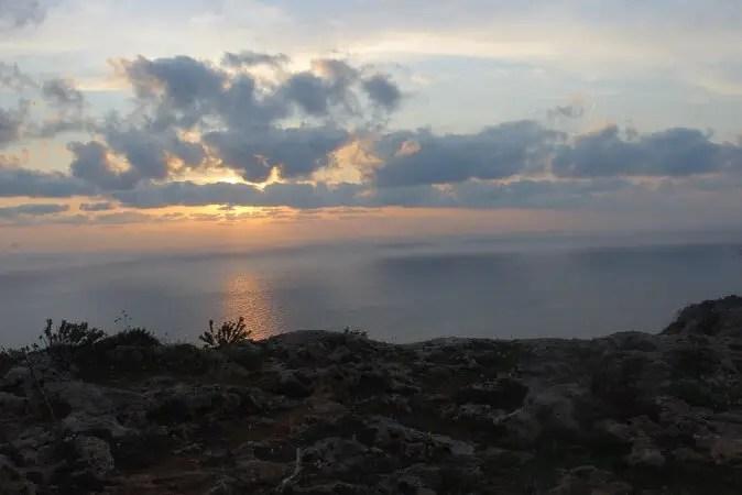 Sunset at Dingli Cliffs