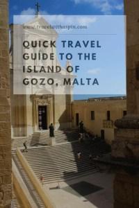 Quick travel guide to Gozi Island, Malta