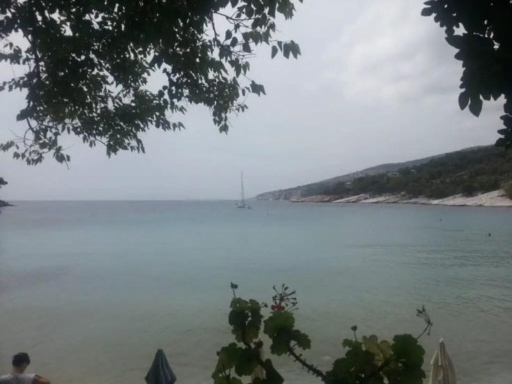 Plaja Aliki, Thassos