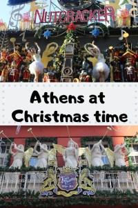 Athens at Christmas